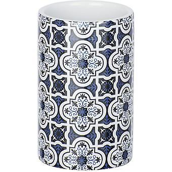 badbeker Murcia 11 cm keramisch blauw/wit