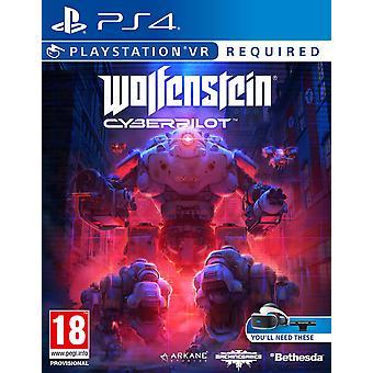 Wolfenstein Cyberpilot VR PS4 Game (PSVR Required)