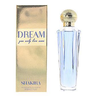 Shakira Dream Eau de Toilette 80ml Spray