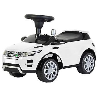 Loopauto Land Rover - Wit - Interactief speelgoed