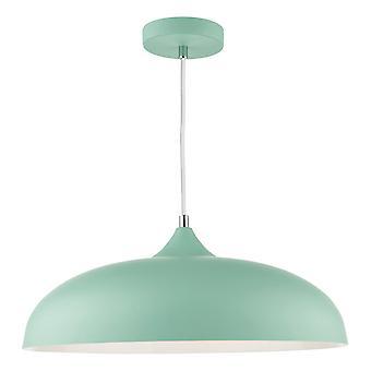 DAR KAELAN Dome Pendentif Light Matt Pale Green, 1x E27