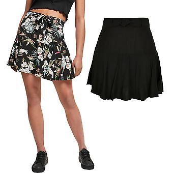 Urban Classics Ladies - Viscose Mini Skirt