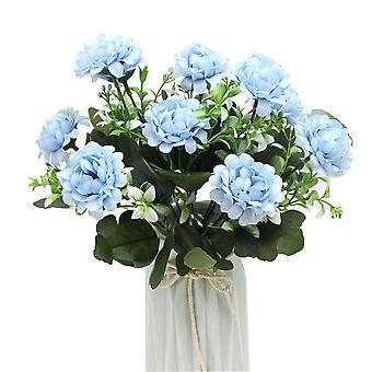 5 Pcs künstliche Blume Hortensie Nblume Arrangement Haus Dekoration getrocknete Blume gefälschte Blumengeschenk für Frauen