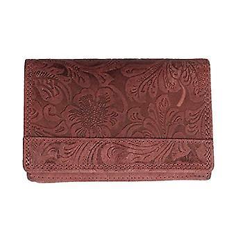 Arrigo 02B-337BP-Rd, Leather Wallet. Woman, Red, Medium