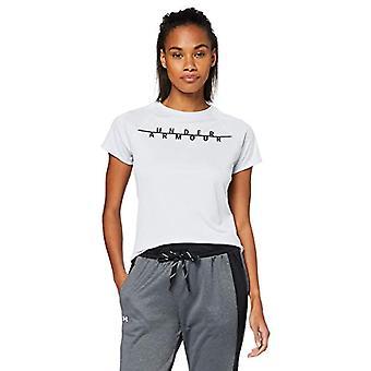 アンダーアーマー スピード ストライド グラフィック 半袖 T シャツ、女性、グレー、LG