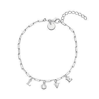 NOELANI Sterling Silver Women's Bracelet 925, Love(2)