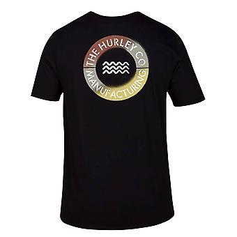 Hurley Viral Short Sleeve T-Shirt in Black