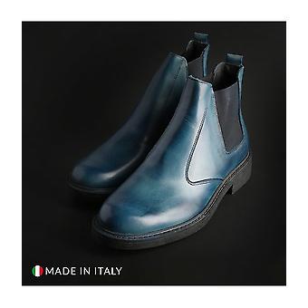 SB 3012 - Shoes - Ankle boots - 100-CRUST-BLU - Men - deepskyblue - EU 44