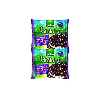 Rizs sütemények Gullón Vitalday csokoládé néger (105 g)