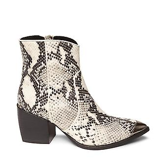 Steve Madden Femmes Preston Cuir Pointed Toe Ankle Fashion Boots