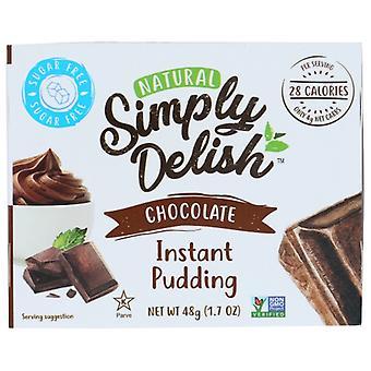 Simpelthen Delish Mix Pddng Pie Choc Nsgr, tilfælde af 6 X 1,7 Oz