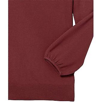 Brand - Lark & Ro Women's Premium Viscose Blend 3/4 Sleeve Square Neck Sweater