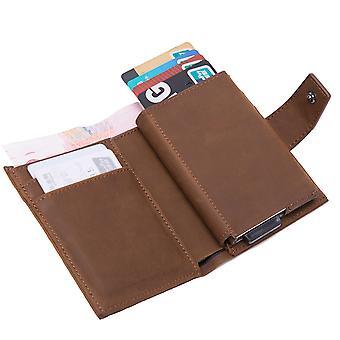 Алюминиевый сплав доллар клип анти-кража держатель карты анти-магнитный RFID персонализированный кошелек