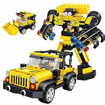 Sports Car Racing Jeep Building Blocks Educational Toy