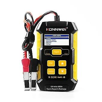 KW510 Car Battery Tester Multifunctional Pulse Repairing Car Battery Chargers Auto Maintenance Tool