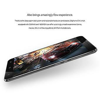 Elephone C1x Mt6737 2gb Ram 16gb Rom 5.0mp + 8.0mp Fingerabdruck-Sperre Smart Phone