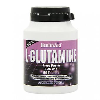 HealthAid L-Glutamin 500mg Tabletten 60 (802075)