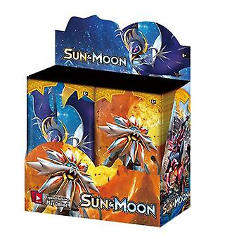 324 Stuks/doos Gx Ex Sun Moon Cards Collection Game Toys Shining Trading Card Engels