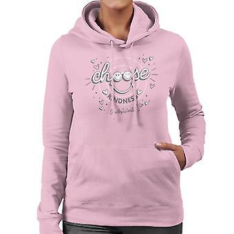 Smiley World Choose Kindness Women's Hooded Sweatshirt