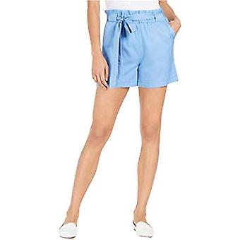 Maison Jules Womens High Rise Solid Shorts