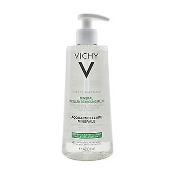 Vichy Purete Thermale Mineral Micellar Vatten - För kombination till fet hud 400ml / 13.5oz