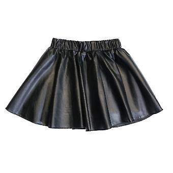 New Winter Leather Skirt