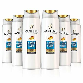 Pantene Pro-V Classic Clean Shampoo For Normal & Mixed Hair, 6 Pack, 500 ml