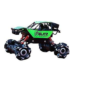 Kauko Contro Monster Truck -leluauto Stunt Drift Crawler Maastossa pyörivä 360 ajoneuvo ajaa mihin tahansa maastoon Lapset Lahja