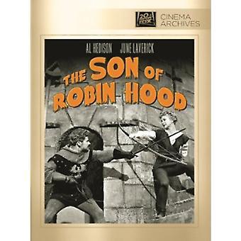 Zoon van Robin Hood [DVD] USA import
