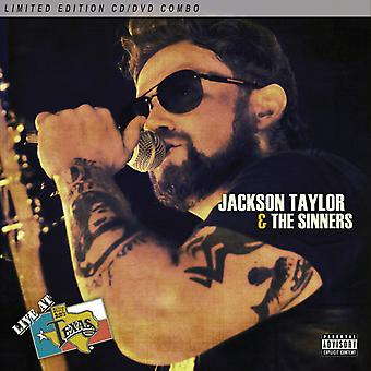 Jackson Taylor & Sinners - Live at Billy Bob's Texas [CD] USA import