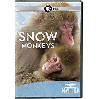 自然: スノー モンキー 【 DVD 】 アメリカ インポートします。