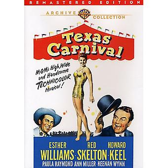 Texas Carnival (Remastered) [DVD] USA importerer