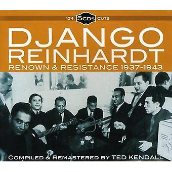 Django Reinhardt - Renown & Resistance 1937-43 [CD] USA import