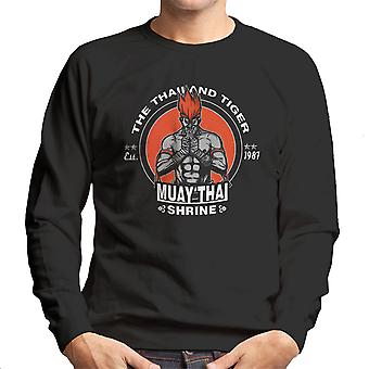The Thailand Tiger Adon Street Fighter Men's Sweatshirt