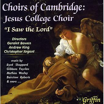 Jesus College Choir - I Saw the Lord [CD] USA import