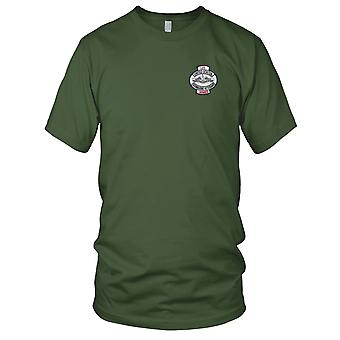 US Navy Yhdysvaltojen merenalainen veteraanit Ainaisjäsen kirjailtu Patch - Miesten T-paita