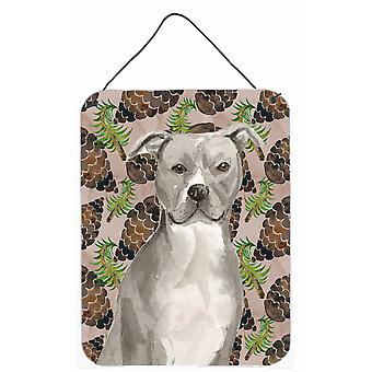 Staffordshire Bull Terrier Kiefer Kegel Wand oder Tür hängen Drucke