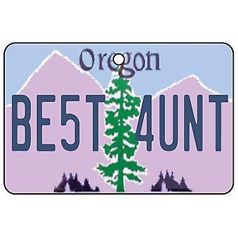 Oregon - meilleure tante License plaque voiture assainisseur d'Air