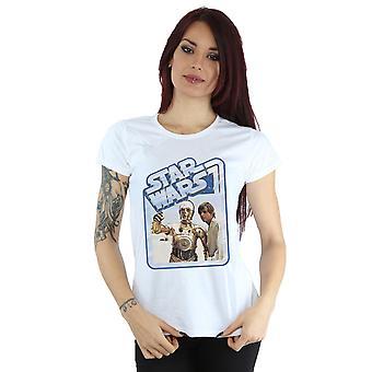 Star Wars femminile Luke Skywalker e C-3PO t-shirt