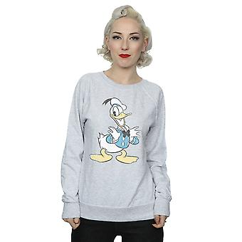 Disney Women's Donald Duck Posing Sweatshirt