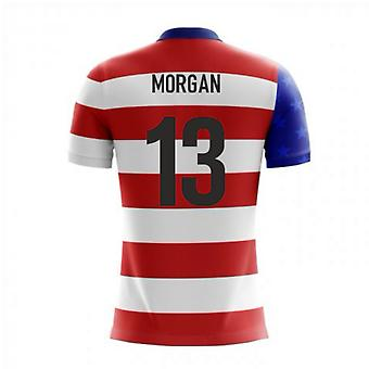 2020-2021 USA Airo Concept Home Shirt (Morgan 13)