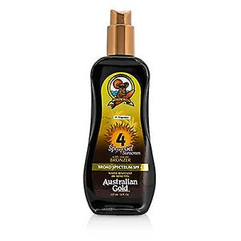 Spray Gel Sunscreen Broad Spectrum Spf 4 With Instant Bronzer - 237ml/8oz