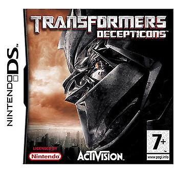 Transformere spillet-Decepticons (Nintendo DS)-nye