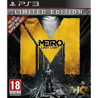 Metro Last Light (PS3)-fabriken förseglad