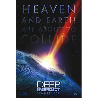 Deep Impact filmposter (11 x 17)