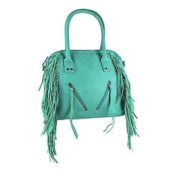 تيال الأخضر هامش الجبهة حقيبة كروسبودي