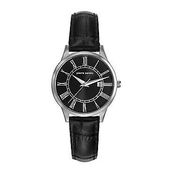 Pierre Cardin ladies watch bracelet watch Le Bouscat leather PC901732F02