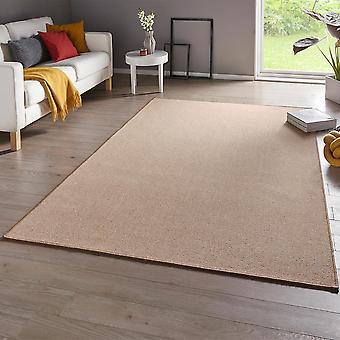 Fine loop carpet casual beige uni-mix