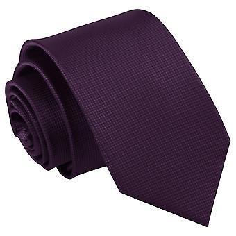 Cadbury lila Solid kontrollera smal slips