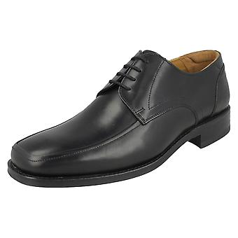 Mens Loake Sussex Leather Lace Up Shoes With Dual Fitting